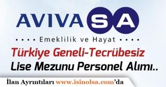 Avivasa Emeklilik Türkiye Genelinde Lise Mezunu Bir Çok İş İlanı Yayımladı!