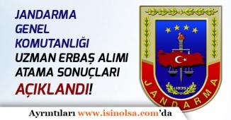 Jandarma Genel Komutanlığı Uzman Erbaş Alım Sonuçları Açıklandı!