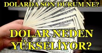 Dolarda Son Durum ne? Dolar Neden Yükseliyor? Güncel Döviz Kuru
