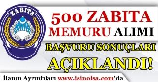 İBB KPSS 60 Puan İle 500 Zabıta Memuru Alımı Başvuru Sonuçları Açıklandı