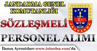 Jandarma Genel Komutanlığı Sözleşmeli Personel Alım İlanı