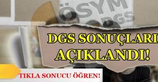 ÖSYM 2018 DGS Sonuçlarını Açıkladı! Sonuç Ekranı