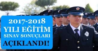 Polis Akademisi 2017-2018 Yılı PAEM Eğitim Sınavı Sonuçları Açıklandı!