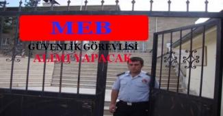 İŞKUR TYP Kapsamında MEB İçin Güvenlik Görevlisi Alımı Yapıyor