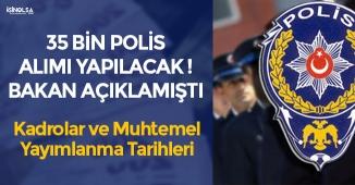 35 Bin Polis Alımı Yapılacak! PÖH-POMEM-PMYO Alımları Hakkında Bilgilendirme