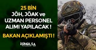 Jandarma Genel Komutanlığı JÖH, JÖAK ve Uzman Personel Alımı Yapacak! 25 Bin Alım Kapıda