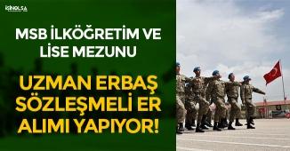 MSB 2018 Jandarma Uzman Erbaş ve Sözleşmeli Er Alımı Yapıyor! Başvuruda Son Günler