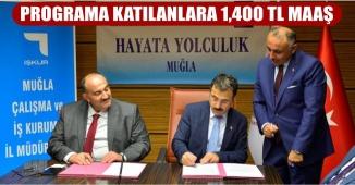 Protokol İmzalandı! Programa Katılanlar Aylık Bin 400 Lira Maaş Alacak