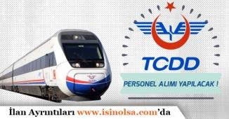 TCDD İŞKUR üzerinden Personel Alımı Yapacak!