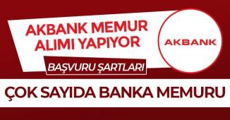 Akbank Çok Sayıda Banka Memuru Alımı Devam Ediyor!