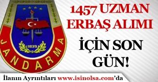 Jandarma 1457 Uzman Erbaş Alımında Son Gün! Sonuçlar Ne Zaman Açıklanır?