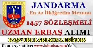 Jandarma 2018 Uzman Erbaş Alımı Sona Eriyor! Son Başvuru 29 Kasım 2018