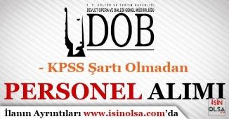 KPSS Şartı Olmadan Sözleşmeli Personel Alım İlanı Yayımlandı! Antalya DOB