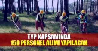 Toplum Yaranına Program Kapsamında 150 Personel Alınacak