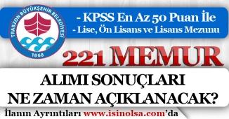 50 KPSS Puanı İle 221 Memur Alımı Başvuru Sonuçları Ne Zaman Açıklanacak?