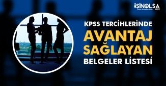 KPSS 2018/2 Tercihlerinde Avantaj Sağlayacak Belgeler! Memur Adayları Dikkat