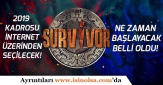 Survivor 2019 Adayları İnternet Üzerinden Seçilecek | Ne zaman Başlayacak Belli Oldu!