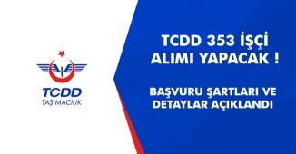 TCDD 353 İşçi Alımı Yapacak! Duyuru Yayımlandı