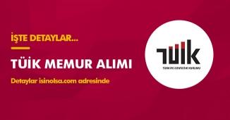 Türkiye İstatistik Kurumu Başkanlığı Memur Alımı Yapıyor! KPSS 2018/2 Tercihleri