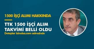 Türkiye Taş Kömürü Kurumu (TTK) 1500 İşçi Alım Takvimi Açıklandı! İşte Detaylar