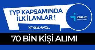 TYP Kapsamında 70 Bin Alımın İlk Adımları Atılıyor! İlanlar Yayımlandı