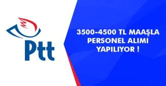 3500-4500 TL Maaşla Personel Alımları! İlanlar Yayımlandı