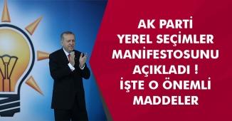 AK Parti Seçim Manifestosunu Açıkladı: 11 Maddeden Önemli Başlıklar