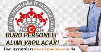 Erzurum İlçesine SYDV Büro Personeli Memur Alımı Yapılacak!