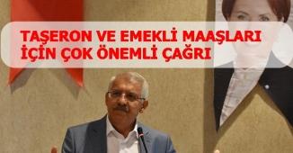 Fahrettin Yokuş TBMM'de Emekli ve Taşeron Zammı Açıklaması