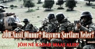 Jandarma Özel Harekat ( JÖH ) Çalışma Saatleri ve Maaşı