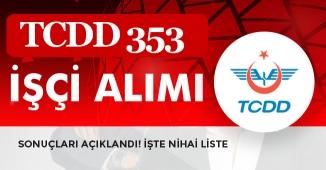 TCDD KPSS Şartsız 353 Memur Alımı Başvuru Sonuçları Açıklandı! Sorgulama Ekranı