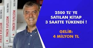 Yılmaz Özdil' in 2500 TL' lik Kitabı 3 Saatte Tükendi! Gelir: 4 Milyon TL