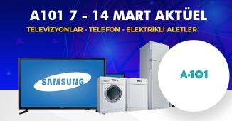 A101 7 - 14 Mart 2019 Aktüel Ürünler Kataloğu (TV-TELEFON VE ELEKTRİKLİ ÜRÜNLERDE FIRSAT)