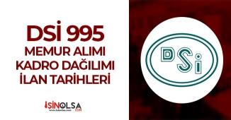 DSİ 995 Memur Alımı Kadrolar, İlan Tarihi ve Adayların Talepleri