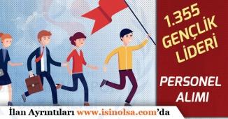 GSB'ye 1.355 Gençlik Lideri Memuru Alımı Yapılacak! 60 KPSS ile