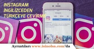 İnstagram İngilizce mi Oldu! İphone cihazlarda Dil Ayarı Türkçeye Nasıl Çevirilir?