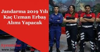 Jandarma 2019 Kaç Uzman Erbaş Alımı Yapılacak?