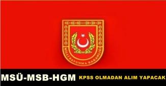 Milli Savunma Bakanlığı KKK, DKK ve HKK Personel Alımı Başvuru İçin İzlenecek Yollar