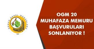 Orman Genel Müdürlüğü (OGM) Muhafaza Memuru Alımı Sonlanıyor! (70 KPSS)