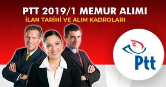 PTT 2019/1 Memur Alımları (İlan Tarihi, Hangi Kadrolara Alım Yapılacak)