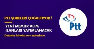 PTT Müdüründen Memur Alımı Açıklaması! 55 Bin Kişi