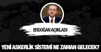 Son Dakika: Cumhurbaşkanı Yeni Askerlik Sistemi Düzenlemesi Konusunda Tarih Verdi!