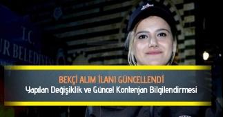 2019 Bekçi Alım Kontenjanı Arttırıldı!