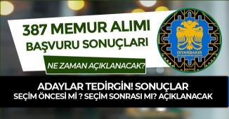 Diyarbakır Büyükşehir Belediyesi Memur Alımı Sonuçları Seçim Öncesi Açıklanacak mı?