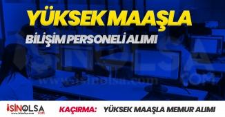 MEB Yüksek Maaşlı Sözleşmeli Personel Alımı Yapacak! Başvurularda Son Günler