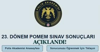 Polis Akademisi 23. Dönem 10 Bin Polis Alımı Giriş Sınavı Sonuçlarını Açıklandı! Sonuç Ekranı