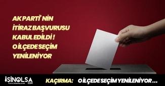 AK Parti' nin İtiraz Başvurusu Kabul Edildi! O İlçede Seçimler Yenilecek