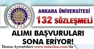 Ankara Üniversitesi Mülakatsız 132 Kamu Personeli Alımında Son Güne Geldik!