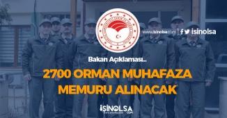 2700 Orman Muhafaza Memuru Alımı Yapılacak! Şartlar ve Başvurular
