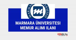 Avukat ve memur alımı, Marmara Üniversitesi ilan yayınladı